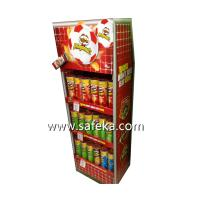 China Store Potato Chips Paper Display Rack for Store Promotion wholesale