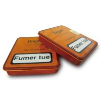 China Bogart Tobacco Tin Containers 20 Cigarillos Fumer Tue 4 Color Printed Metal Case wholesale