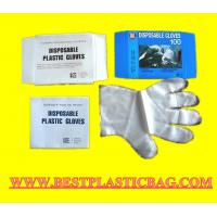 PE Disposable Transparent Gloves For Food Grade