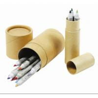 China Wholesale Eco Recycle Paper Pencil for kids,eco green paper pencil wholesale