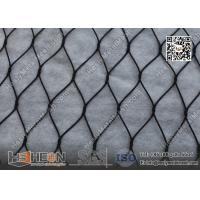China Black Color Anodized Wire Cable Mesh With Ferrule | China ISO certificated Company wholesale