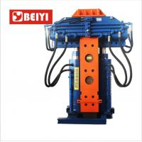 China Chassis Removable Hydraulic Pile Extractor Used In Municipal Construction wholesale