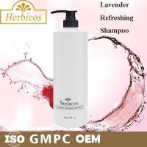 China Mild Herbal Hair Shampoo Facial Cleansing SPA Lavender Refreshing 1000ml wholesale