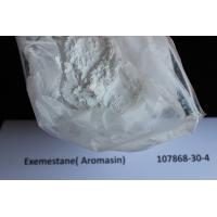 China Anti Estrogen Exemestane / Aromasin Raw Steroid Powders For Breast Cancer Treatment 107868-30-4 wholesale