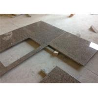 China Tropical Brown Granite Prefab Stone Countertops Elegant Appearance on sale