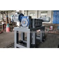 Auto Parts Plastic Waste Shredder / Crusher Machine For Large Hard Materials