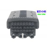 China 96 Core  4 Into 24 Out Multicore Joint Fiber Optic Closure Enclosure Outdoor IP68 1 X 16 PLC Splitter Support wholesale