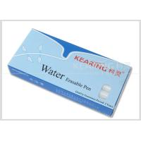 China Non-Toxic Pp White Water Erasable Markers Suitable For Dark Color Fabric Easily Removed By Water #WW10 wholesale