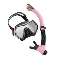 China Professional Snorkeling Equipment Swim Mask And Snorkel Set Women Durable wholesale