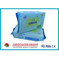 China Soft Baby Dry Disposable Wipes For Cleaning Body & Hand 60pcs / Bag on sale