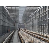 China Metal Curve Highway Noise Reduction Barriers Good Sound Absorbing Property on sale