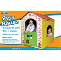 Playhouse with stickers