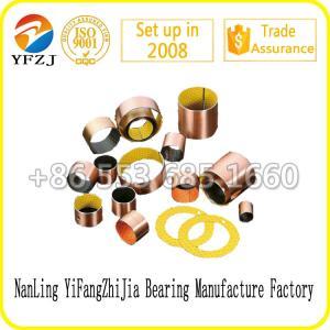 China DU/DX bushing,DU Oilless Bushing,DU/DX teflon bronze harden steel bushing on sale