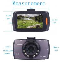 China Wide View Angle HD DVR Car Video Recorder PAL  /  NTSC System wholesale