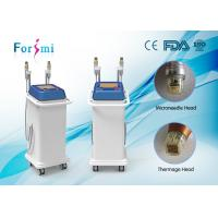 China Advance 25Pins, 49Pins, 81Pins changeable microneedle fraction rf skin tightening machine wholesale