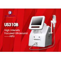 China 2 In 1 Hifu Facelift Machine 5 Cartriges For Wrinkle Removal / Body Slimming wholesale