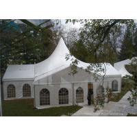 China Customized  Mixed  Marquee Tents White Tent Frabic For Outdoor Party  Event wholesale