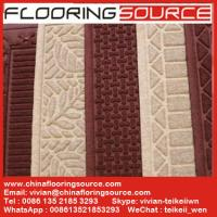 Quality Embossed Waherhog Entrance Mat Rubber Backing Polypropylene Fiber Water hold for sale