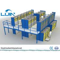 China Heavy Duty Rack Supported Mezzanine System Q235 Steel Material AS4084 Approval wholesale