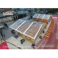 China 500 People Temporary Aluminum Outdoor Canopy Exhibition Tent With Decoration System wholesale