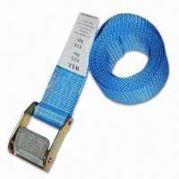 China Tie-down Straps & Cargo Nets with 6,000LB Web Breaking Strength wholesale