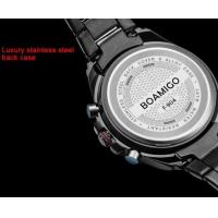 Quality Wholesale Boamigo Men Minitary Sport Watches 3D Dial Analogueand Digital Dual for sale