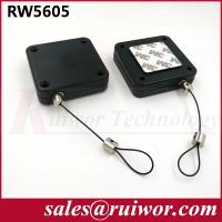 China RUIWOR RW5605 Square Multi-purpose Security Tether Retracting forces MAX 2.5LB/ Cable length MAX 400CM wholesale