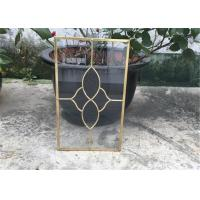 China Clear Cabinet Door Glass Panels , Various Shape Decorative Glass For Kitchen Cabinets on sale