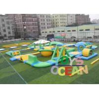 China Custom Outdoor Adults Giant Floating Inflatable Water Park UL / EN14960 wholesale