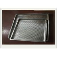 China 304 Stainless Steel Wire Mesh Tray With Rectangular For Filtering wholesale