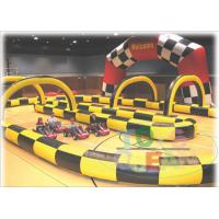 China Durable Inflatable Go Kart Racing Track For Kart Car Zorb Ball Using wholesale