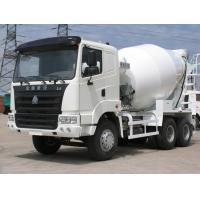 China 6*4 truck mounted concrete mixer, concret truck mixer, 8m3 concrete mixer truck on sale