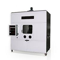 China Large UL1581 Combustion Chamber Of Combustion Test Box With Square Steel Frame on sale