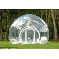 China Transparent Dome Camping Inflatable Clear Tent wholesale