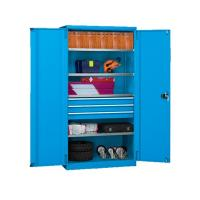 China Mobile Metal Tool Cabinet , Tool Box On Wheels With Handle For Workshop Garage wholesale