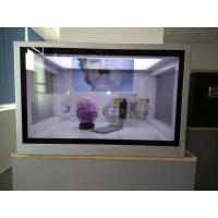 China Custom Size Transparent LCD Showcase For Advertising Aluminum Extrusions Frame wholesale