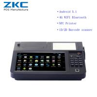 China ZKC800 Android 5.1 8inch desktop pos with 3g/4g,wifi,nfc/rfid,scanner,printer wholesale