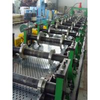 China 200 - 500mm Width Cable Tray Scaffolding Walk Board Rolling Form Machine 4 - 6 M / Min wholesale