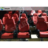 Quality Medium Interactive 9D Cinema System Electric 9D Simulator With 30 Motion 9D Chairs for sale