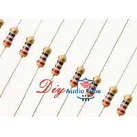 China 1.5ohm Audiophile Grade Resistors High Reliability By Using Carbon Film wholesale
