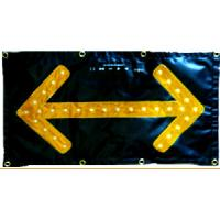 China High Visibility Traffic Control Arrow Boards Chevron LED Flashing Arrow Sign wholesale