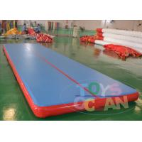 China 7 X 2 X 0.2m Inflatable Gymnastics Air Track Inflatable Floor For Sport wholesale