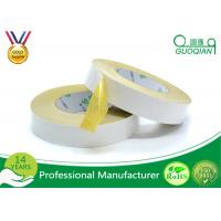 China Yellow Embroidery Decorative Double Side Tape With Acrylic Glue wholesale