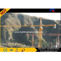 China QTZ5613 8T Lifting Load Building Tower Crane Jib Length 13.36m With Remote Control wholesale