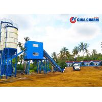 China Fixed 60m3 Stationary Concrete Batching Plant Ready Mix Belt Type 1.5 Pieces Air Conditioner wholesale