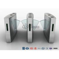 China Waist Height Turnstile Access Control Automatic Flap 12V DC With Ticketing System wholesale