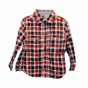 China 100% Cotton Children's Shirt wholesale
