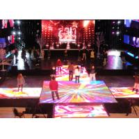 China Waterproof Interactive Led Floor , Led Wedding Dance Floor Hire on sale