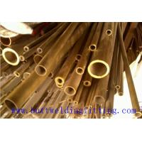 Quality Copper Nickel Tube Cu - Ni 90/10 C70600 , Seamless Copper Nickel Pipe Size 1-96 Inch for sale