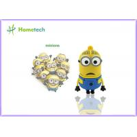 Buy cheap Minions Custom USB Memory Stick 64MB - 128GB Capacity Soft Plastic Material from wholesalers
